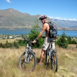 Mountain Biking, Wanaka, New Zealand