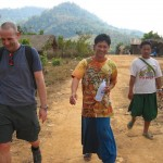 Trekking with the locals Northern Thailand