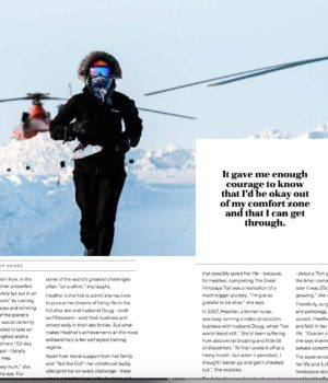 A Strength Within published in Travel Play Live Magazine