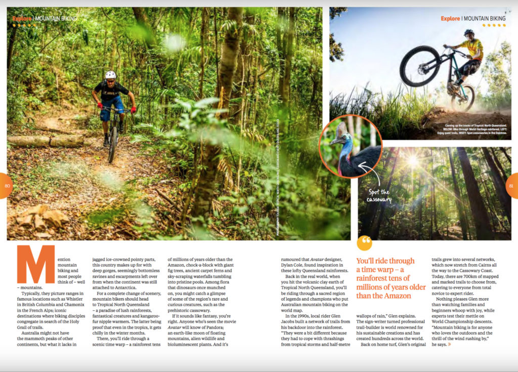 Mountain Biking in Tropical north Queensland