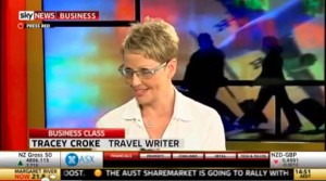 Talking on the telly about cycling adventure travel