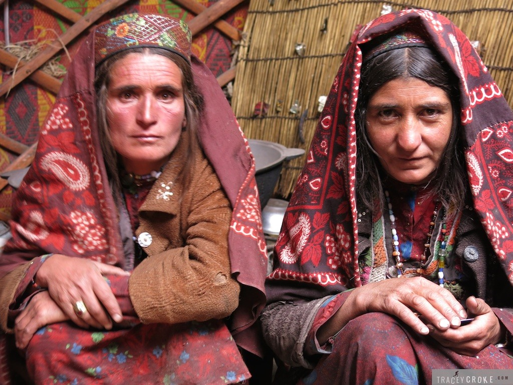 Traditional Wakhi women