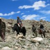 Trekking through the Pamir Mountains Afghanistan