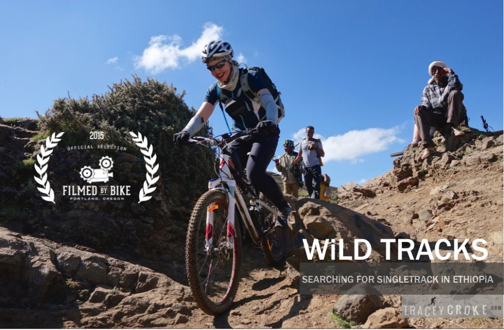 Wild Tracks Filmed By Bike Poster