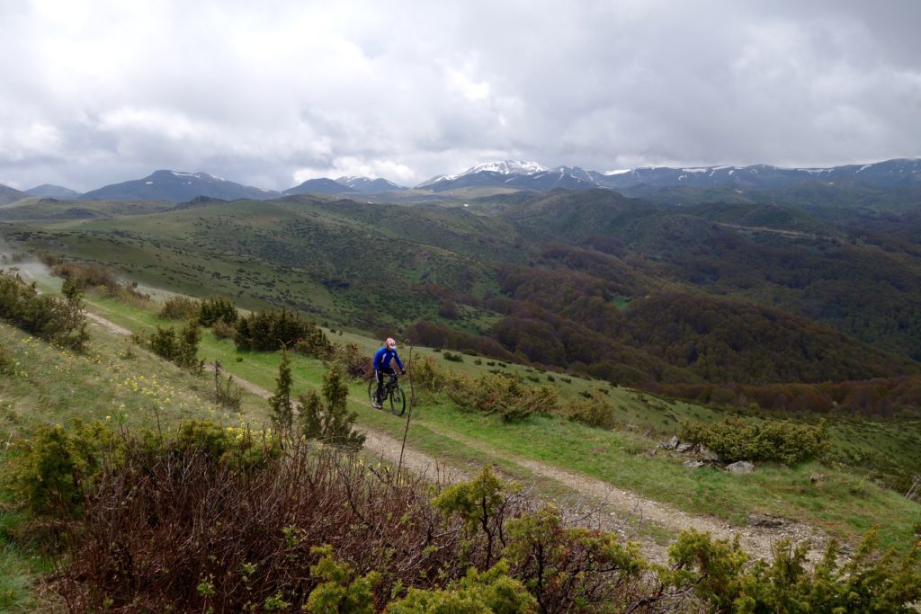 Mountain Biking through Mavrovo National Park