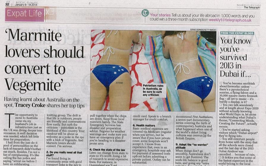 The Telegraph Expat Jan 2014