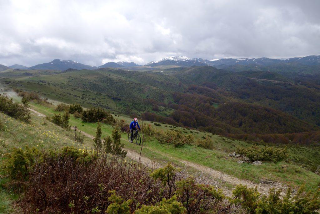 Mountain Biking through Mavrovo National Park