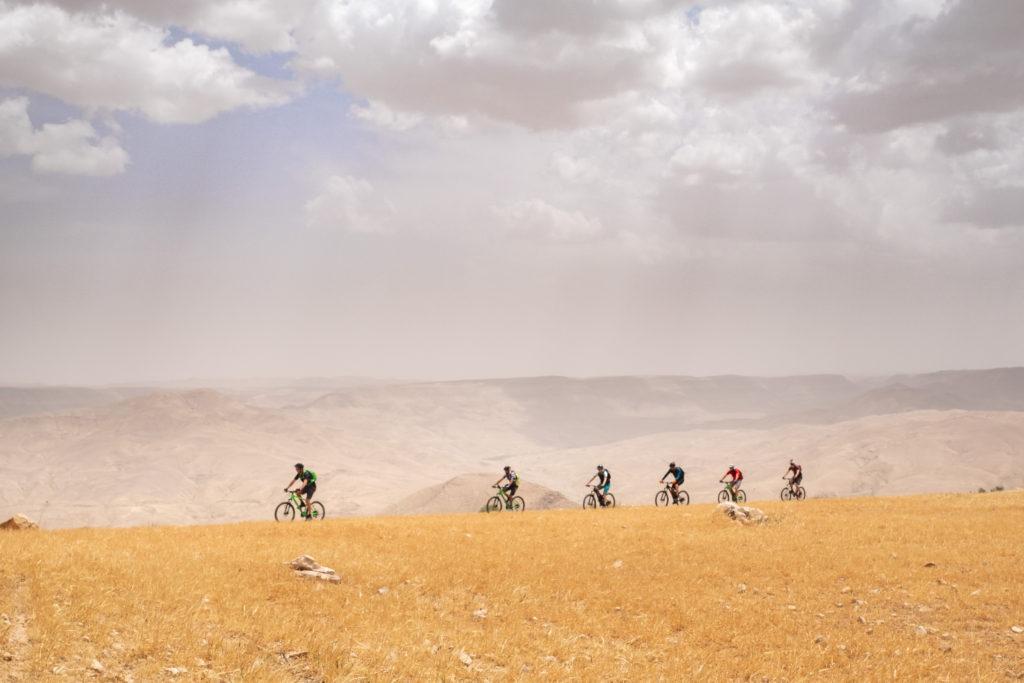 Mountain Bikers on The Jordan Bike Trail